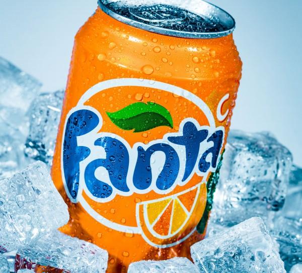 Fanta, eiskalt, 0,33 Liter